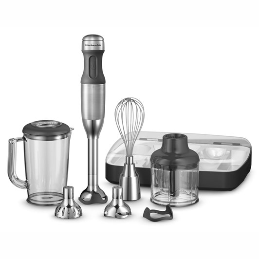 KitchenAid Stainless KHB2569 Artisan Deluxe Hand Blender