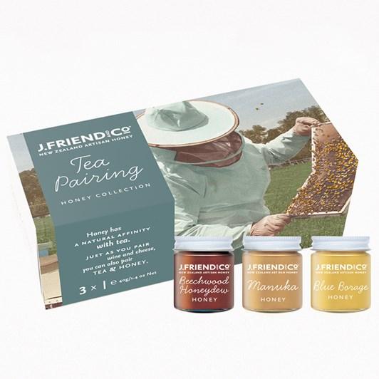 NZ Artisan Honey - Honey for Tea Matching Collection