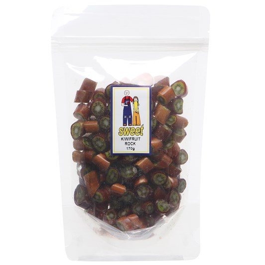 Sweet Kiwifruit Rock Bag 170g