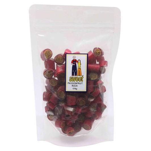 Sweet Passionfruit Rock Bag 170g