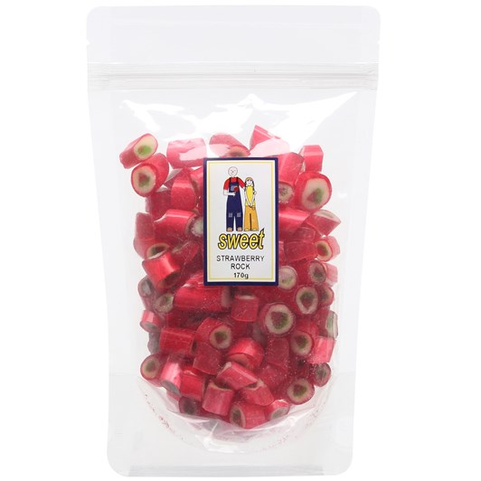 Sweet Strawberry Rock Bag 170g