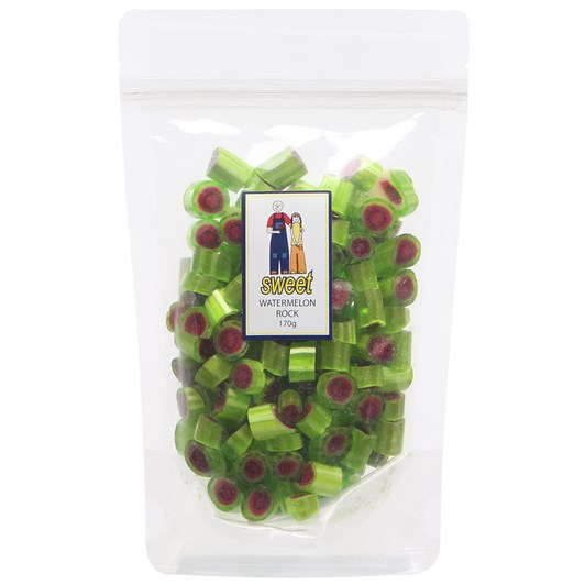Sweet Watermelon Rock Bag 170g