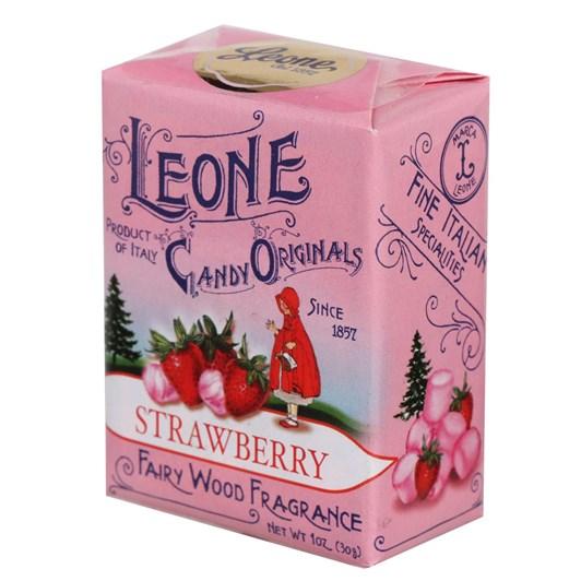 Leone Strawberry Pastilles Box 30g