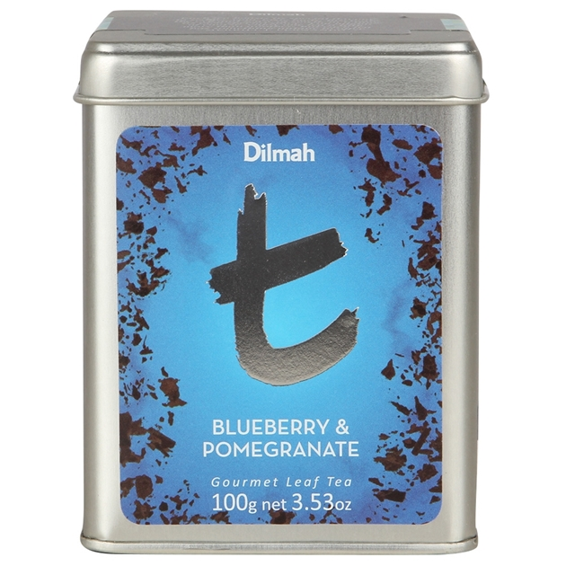 Dilmah Blueberry and Pomegranate Leaf Tea 100g -