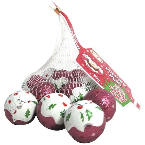 Sorini Popping Christmas Puddings 90g