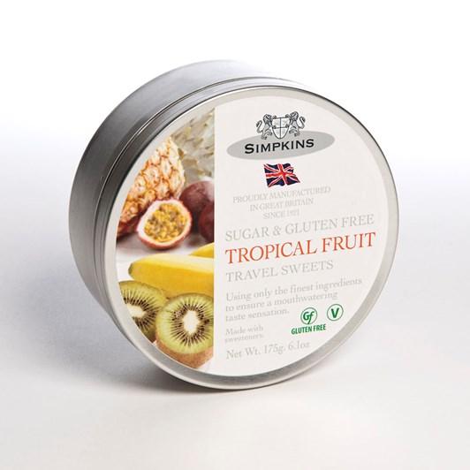 Simpkins Tropical Fruit Drops Sugar Free 175g