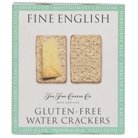 The Fine Cheese Co. Fine English Gluten Free Water Crackers 175g