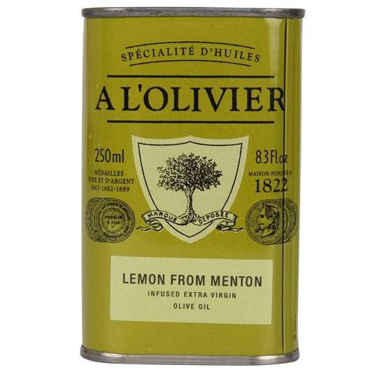 A L'Olivier Lemon from Menton Infused Olive Oil 250ml