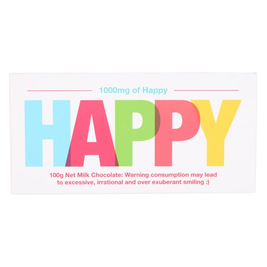 Bloomsberry 100mg of Happy Chocolate Bar 100g