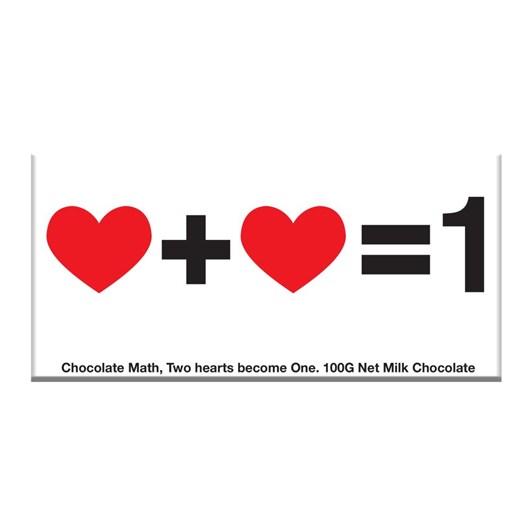 Bellaberry Chocolate Math Chocolate Bar 100g