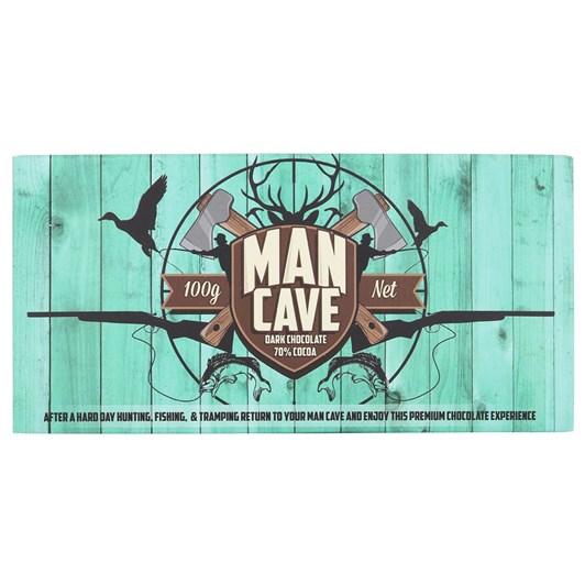 Bloomsberry Man Cave Dark Chocolate 100g