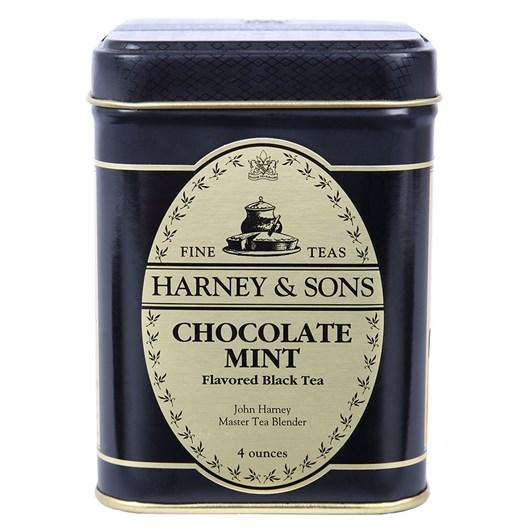 Harney & Sons Chocolate Mint Loose Leaf Black Tea 4oz Tin