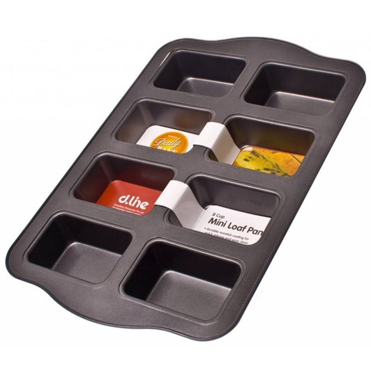 D.Line 8 Cup Mini Loaf Pan