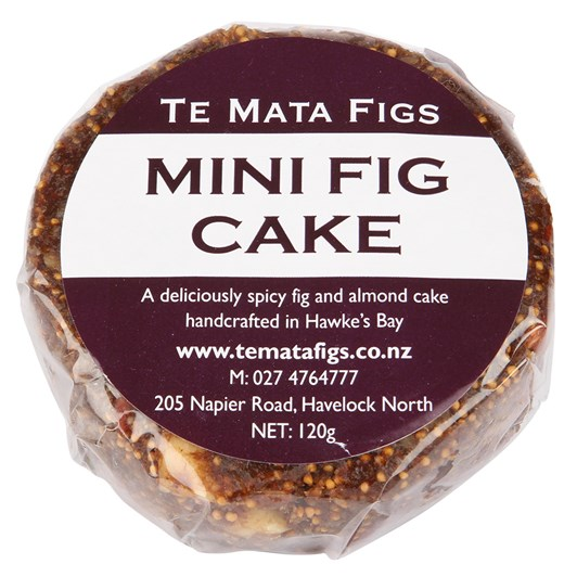 Te Mata Mini Fig Cake 120g