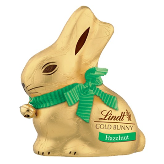 Lindt Gold Bunny Hazelnut Chocolate 100g