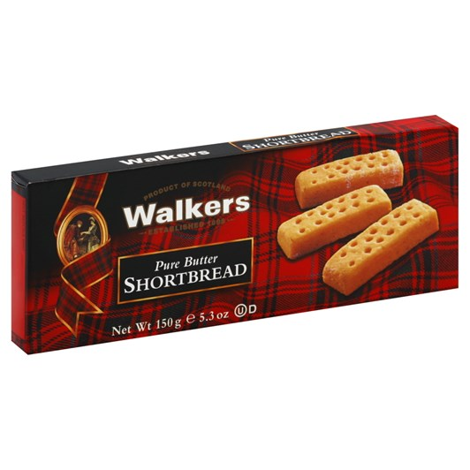 Walkers Luxury Shortbread Fingers 150g