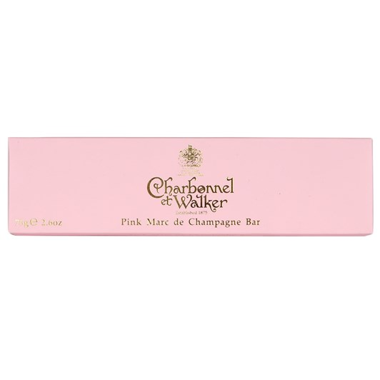 Charbonnel & Walker Milk Chocolate Pink Marc De Champagne Bar 75g
