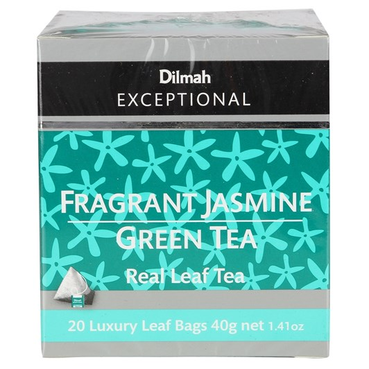 Dilmah Exceptional Fragrant Jasmine Green - 20 Teabags