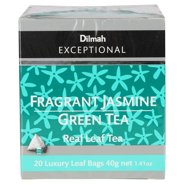 Dilmah Exceptional Fragrant Jasmine Green - 20 Teabags -
