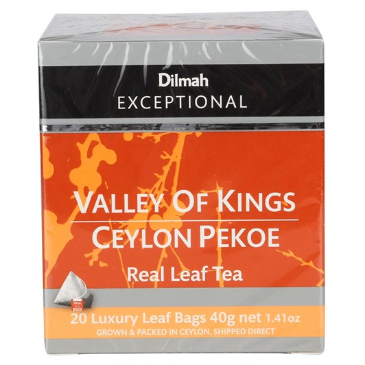 Dilmah Exceptional Valley Of The Kings 20 Teabags