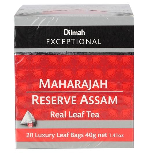 Dilmah Exceptional Maharajah Reserve Assam - 20 Teabags