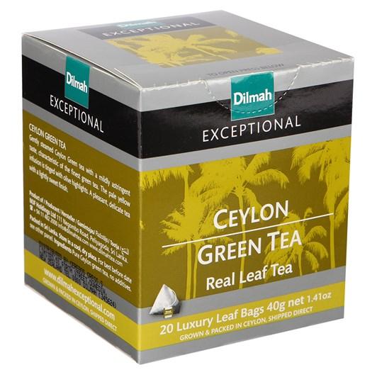 Dilmah Exceptional Ceylon Green Tea - 20 Teabags