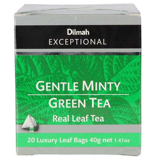 Dilmah Exceptional Gentle Minty Green - 20 Teabags