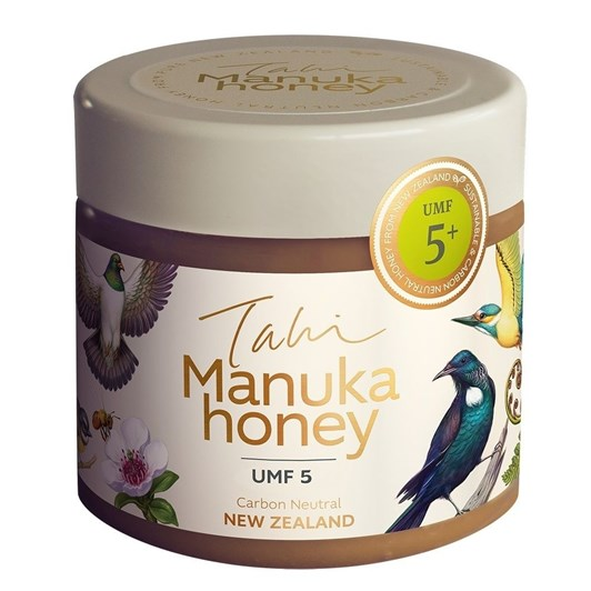 Tahi UMF 5+ Manuka Honey 400g Jar
