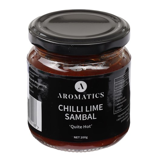 Aromatics Chilli Lime Sambal 200g
