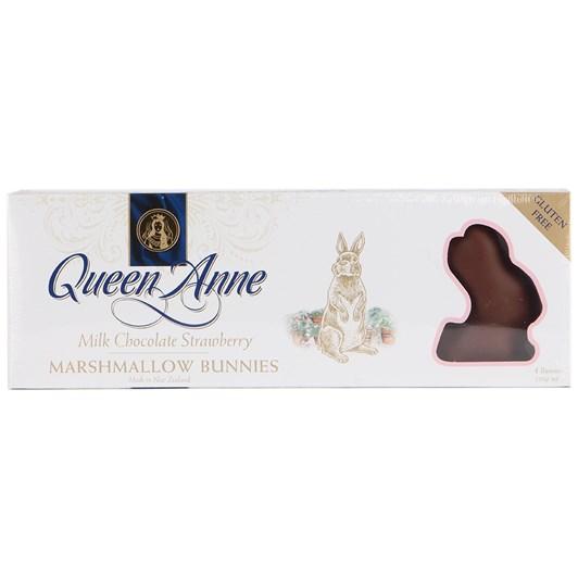 Queen Anne Bunnies Marshmallow Strawberry Milk Chocolate 200g