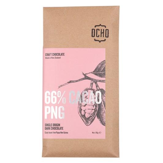 Ocho PNG 66% Cacao 95g - 40gm