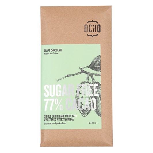 Ocho Sugar Free 77% Cacao 95g