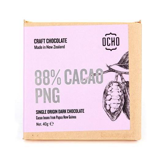 Ocho PNG 88% Cacao Chocolate Bar 40g
