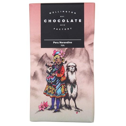 Wellington Chocolate Factory Peru Norandino 75g