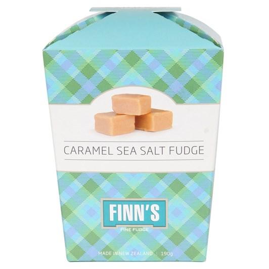 Finns Caramel Sea Salt Fudge Gift Box 190g