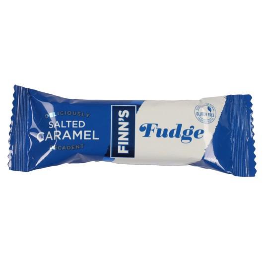 Finns Caramel Sea Salt Fudge Bar 50g