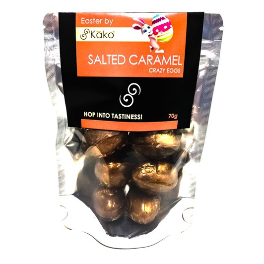 Kako Chocolate Salted Caramel Crazy Egg Mini Pouch