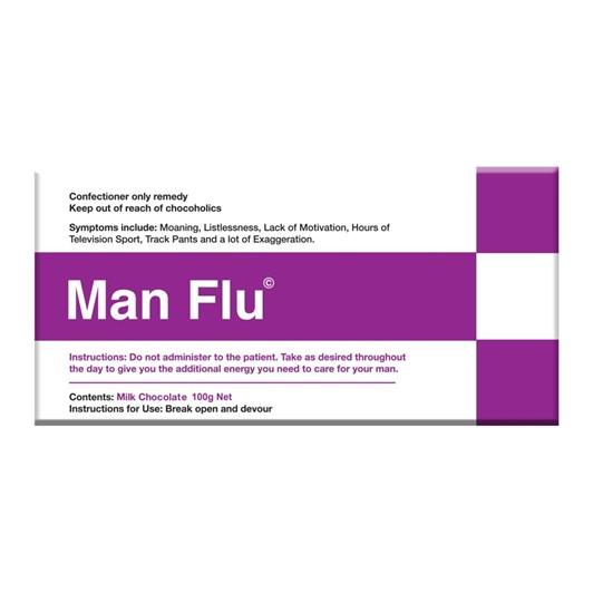 Bellaberry Man Flu Chocolate Bar 100g