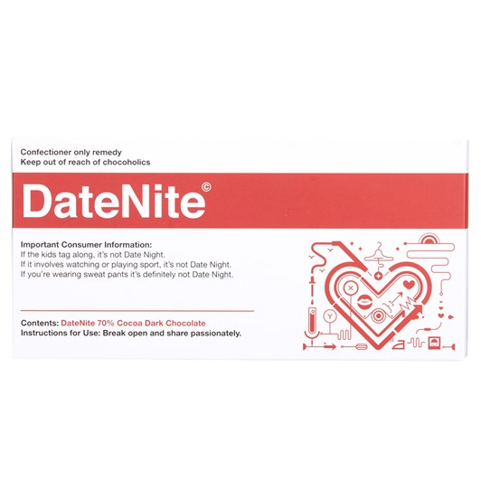 Bloomsberry DateNite Chocolate Bar 100g