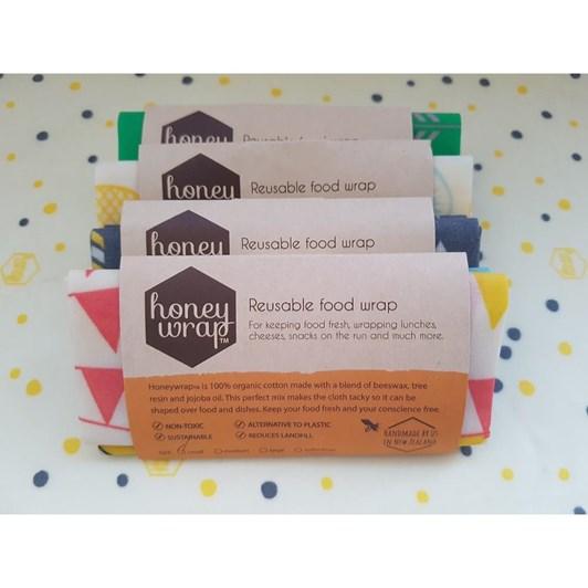 Small Honeywrap Twin Pack 17cm x 20cm