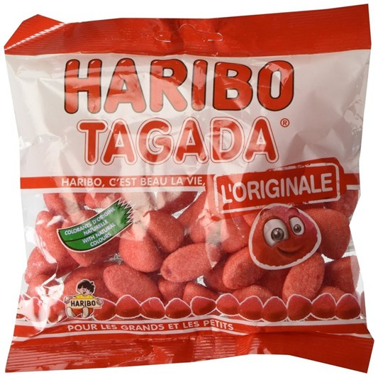 Haribo Pink Strawberry 120g