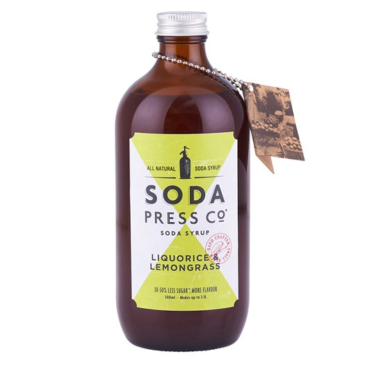 Soda Press Liquorice & Lemongrass