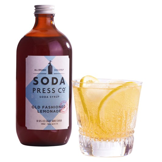 Soda Press Old Fashioned Lemonade 500ml