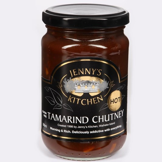 Jennys Kitchen Tamarind Chutney Hot 300ml