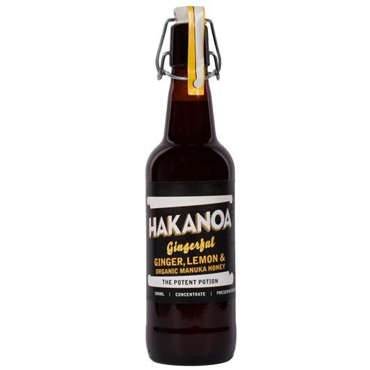 Hakanoa Ginger Lemon & Pure Manuka Honey 500ml