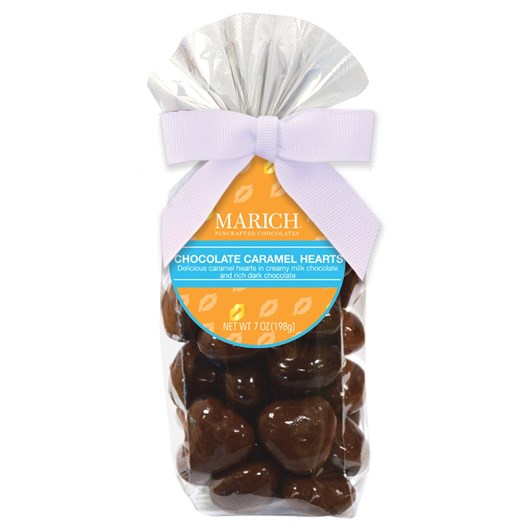 Marich Chocolate Caramel Hearts 198g
