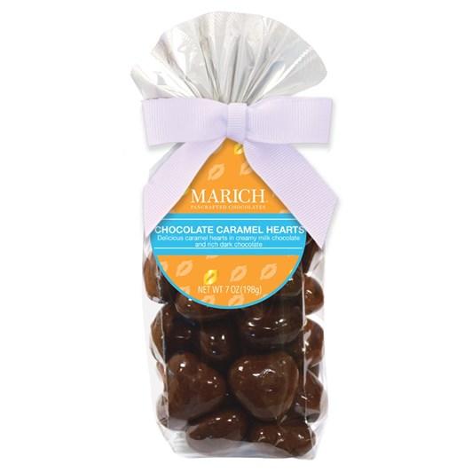 Marich Chocolate Caramel Hearts 198g
