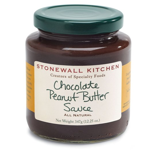 Stonewall Kitchen Chocolate Peanut Butter Dessert Sauce 347g