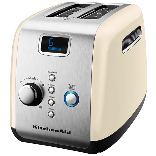 Kitchenaid Almond Cream Artisan 2 Slice Toaster
