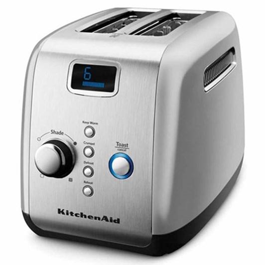 Kitchenaid Contour Silver Artisan 2 Slice Toaster